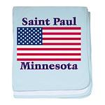 I Love Saint Paul baby blanket