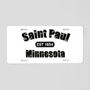 Saint Paul Established 1854 Aluminum License Plate