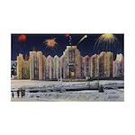 1937 Winter Carnival Ice Pala 38.5 x 24.5 Wall Pee