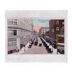 1924 Downtown Saint Paul Throw Blanket