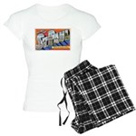 Greetings from St. Paul Women's Light Pajamas