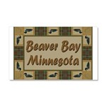 Beaver Bay Minnesota Loon Car Magnet 20 x 12
