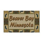 Beaver Bay Minnesota Loon 22x14 Wall Peel