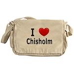 I Love Chisholm Messenger Bag