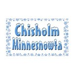 Chisholm Minnesnowta 38.5 x 24.5 Wall Peel
