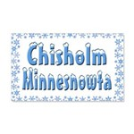 Chisholm Minnesnowta 22x14 Wall Peel