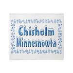 Chisholm Minnesnowta Throw Blanket
