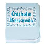 Chisholm Minnesnowta baby blanket