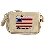 Chisholm US Flag Messenger Bag