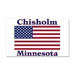 Chisholm US Flag Car Magnet 20 x 12