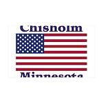Chisholm US Flag 38.5 x 24.5 Wall Peel