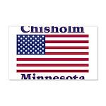 Chisholm US Flag 22x14 Wall Peel