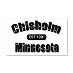 Chisholm Established 1901 Car Magnet 20 x 12