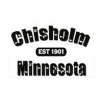 Chisholm Established 1901 38.5 x 24.5 Wall Peel