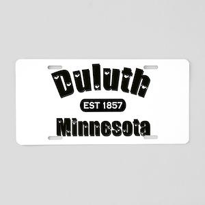 Duluth Established 1857 Aluminum License Plate