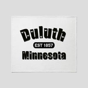 Duluth Established 1857 Throw Blanket