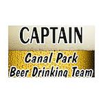 Duluth Beer Drinking Team 38.5 x 24.5 Wall Peel