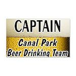 Duluth Beer Drinking Team 22x14 Wall Peel