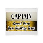 Duluth Beer Drinking Team Throw Blanket