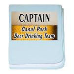Duluth Beer Drinking Team baby blanket