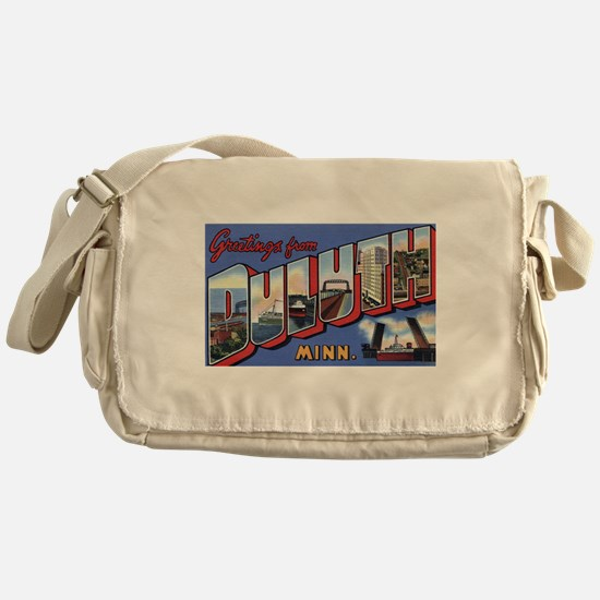 Greetings from Duluth Messenger Bag