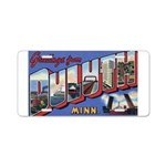 Greetings from Duluth Aluminum License Plate