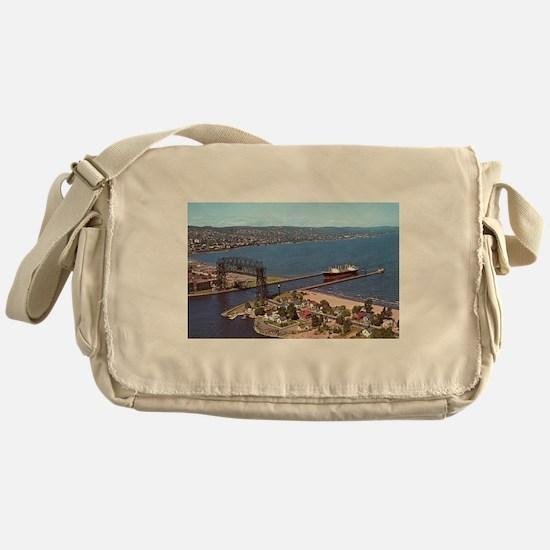 Duluth Harbor Messenger Bag