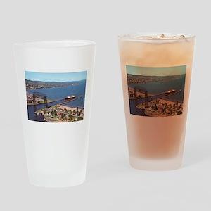 Duluth Harbor Drinking Glass