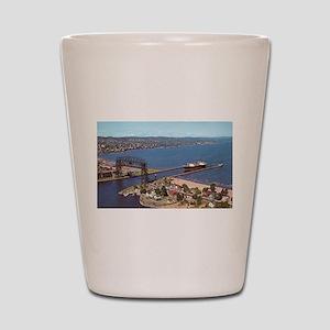 Duluth Harbor Shot Glass