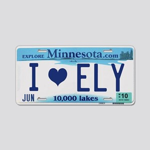 Ely License Plate Aluminum License Plate