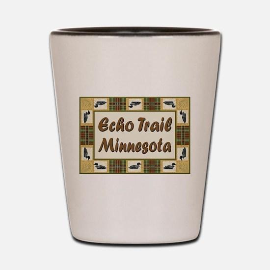 Echo Trail Loon Shot Glass