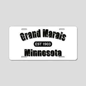 Grand Marais Established 1903 Aluminum License Pla