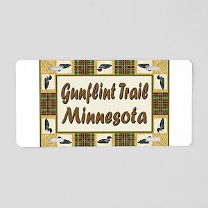 Gunflint Trail Loon Aluminum License Plate