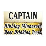 Hibbing Beer Drinking Team 38.5 x 24.5 Wall Peel