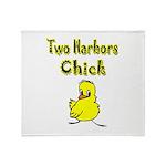 I Love Two Harbors Throw Blanket