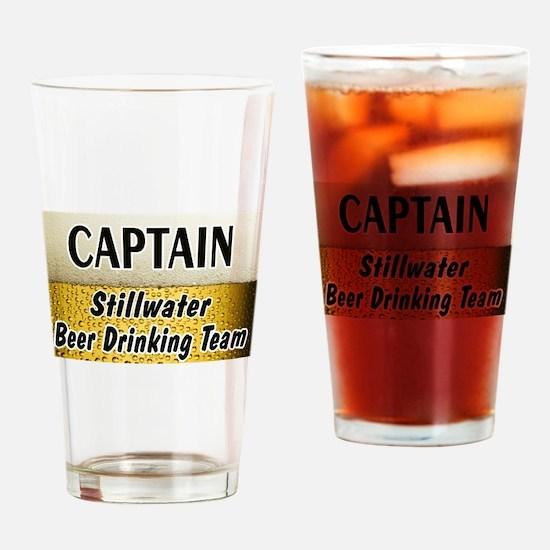 I Love Stillwater Drinking Glass