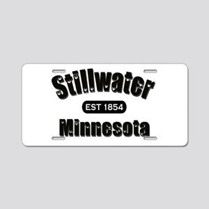 I Love Stillwater Aluminum License Plate