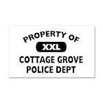 I Love Cottage Grove Car Magnet 20 x 12