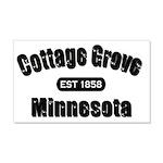 I Love Cottage Grove 22x14 Wall Peel