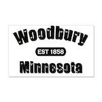 I Love Woodbury 22x14 Wall Peel