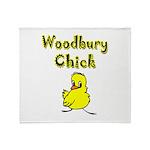 I Love Woodbury Throw Blanket