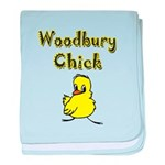 I Love Woodbury baby blanket