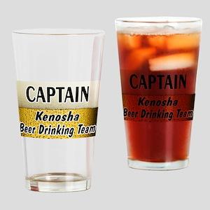 Kenosha Beer Drinking Team Drinking Glass