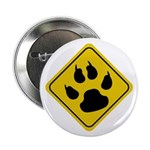 Cat Crossing Sign Button