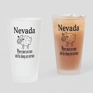 Nevada Sheep Drinking Glass