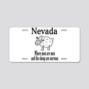 Nevada Sheep Aluminum License Plate