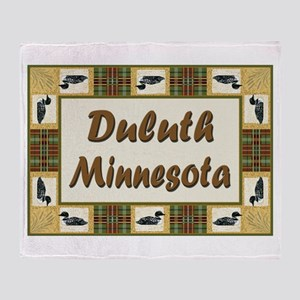 Duluth Loon Throw Blanket