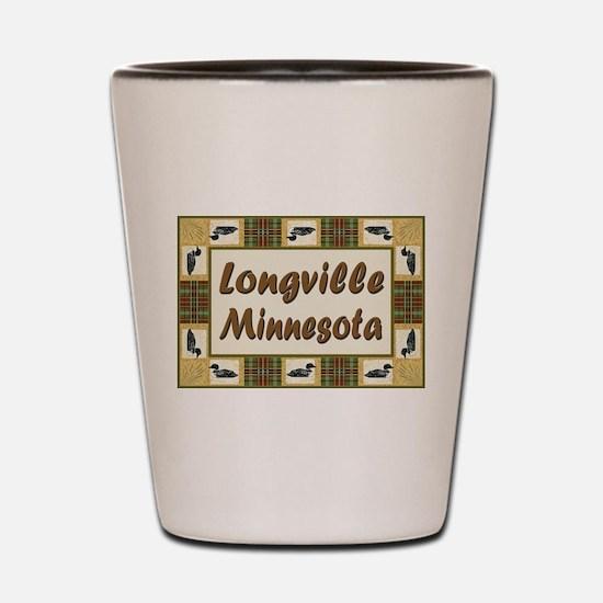Longville Loon Shot Glass