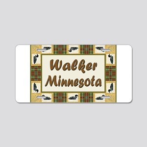 Walker Loon Aluminum License Plate