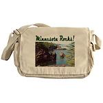 Minnesota Rocks! Messenger Bag